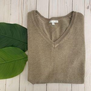 GAP tan Sweater size Small
